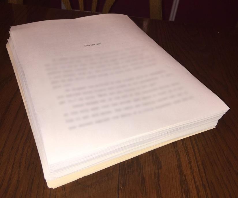 """Manuscript """"done"""""""